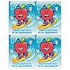 Graphic Image Laser Postcards; Apple Guy, Surf In