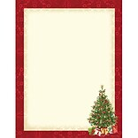 Seasonal Fun Paper Letterhead, Lacy Tree