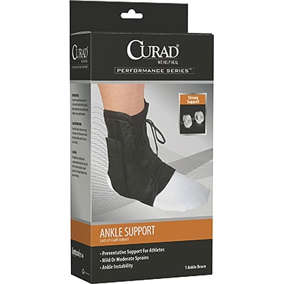 Curad® Figure Eight Lace-up Ankle Splints; Small
