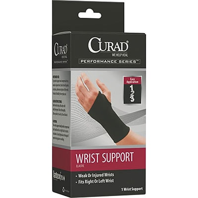 CURAD® Elastic Pull-Over Wrist Supports; Large