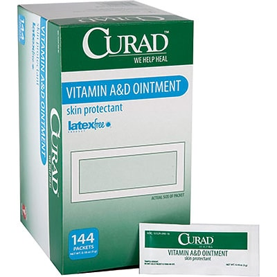Curad® A&D Ointment; 5g., Foil Packets