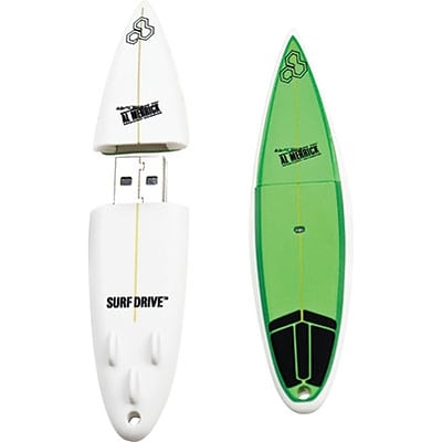 EP Memory® Surfboard Flash Drive, 8GB, Channel Island