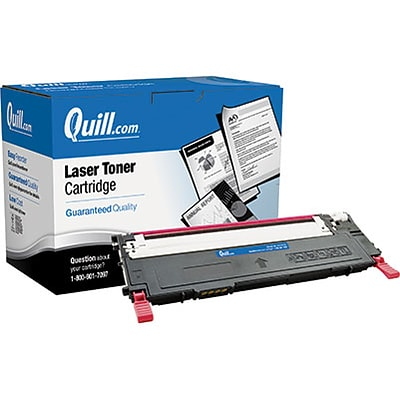Quill Brand Remanufactured Laser Toner Cartridge Comparable to Samsung® CLT-M409S Magenta (100% Satisfaction Guaranteed)