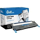 Quill Brand Remanufactured Laser Toner Cartridge Comparable to Samsung® CLT-C409S Cyan (100% Satisfa