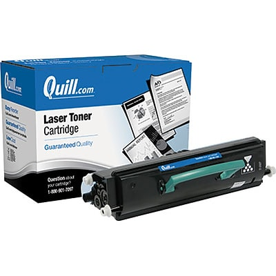Quill Brand Remanufactured Laser Toner Cartridge Comparable to Lexmark™ E360H11A High Yield Black (100% Satisfaction Guaranteed)