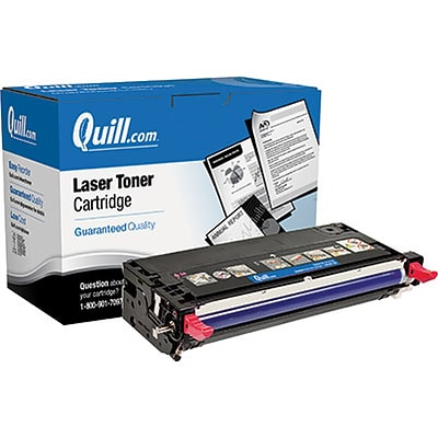 Quill Brand Remanufactured Laser Toner Cartridge Comparable to Dell H514C High Yield Magenta (100% Satisfaction Guaranteed)