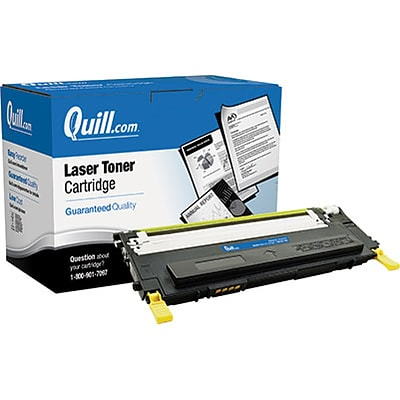 Quill Brand Remanufactured Laser Toner Cartridge for Dell™ 1230 Yellow (100% Satisfaction Guaranteed)