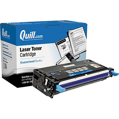Quill Brand Remanufactured Dell 3130 Cyan High Yield Laser Toner Cartridge  (H514C) (100% Satisfaction Guaranteed)
