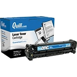 Quill Brand Remanufactured HP 304A Cyan Standard Laser Toner Cartridge  (2661B001AA) (100% Satisfact