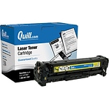 Quill Brand Remanufactured HP 304A Yellow Standard Laser Toner Cartridge  (CC532A) (100% Satisfactio