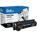 Quill Brand Remanufactured HP 85A (CE285A) Black Laser Toner Cartridge (100% Satisfaction Guaranteed