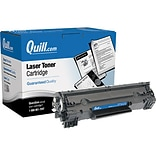 Quill Brand Remanufactured HP 78A Black Standard Laser Toner Cartridge  (3483B001) (100% Satisfactio