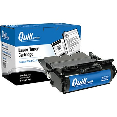 Quill Brand Remanufactured Lexmark 644 Black High Yield Laser Toner Cartridge  (64435XA) (100% Satisfaction Guaranteed)