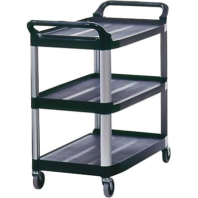 Rubbermaid® X-tra Utility Cart; Black