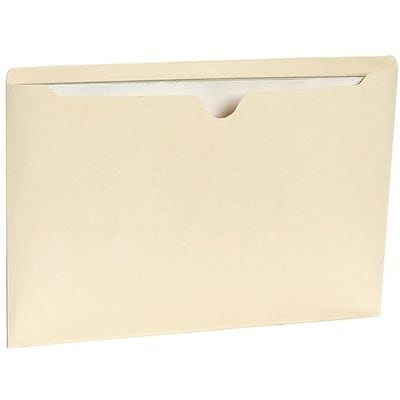Quill Brand® Manila File Jackets; Legal, Flat, 100/Box
