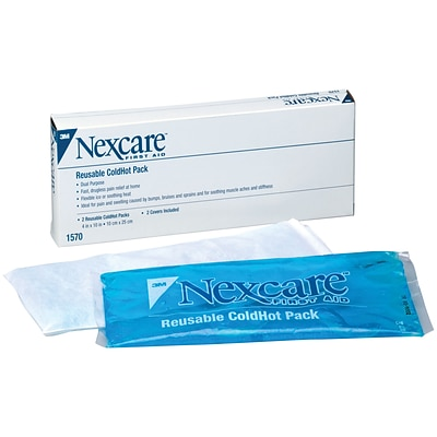 3M™ Nexcare™ Reusable Covers for ColdHot Packs; 4-3/4x10-1/2, 100 Covers per Case