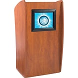 Cherry Lectern with Digital Display