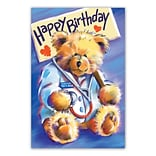 Medical Arts Press® Medical Standard 4x6 Postcards; Doctor Bear, Happy Birthday