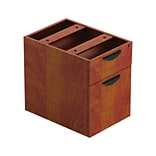 Offices To Go Cherry Hanging Box/File Pedestal