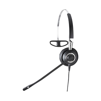 Jabra® BIZ 2420 Wired Monaural Headset with Noise-Canceling Microphone