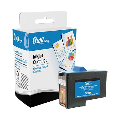 Quill Brand Remanufactured Ink Cartridge Comparable to Lexmark™ 18L0042 #82 Color (100% Satisfaction Guaranteed)