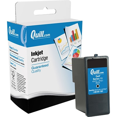Quill Brand High Yield Ink Cartridge Comparable to Dell™ JP451 Black (100% Satisfaction Guaranteed)