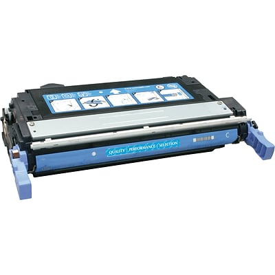Quill Brand Remanufactured HP 644A (Q6461A) Cyan Laser Toner Cartridge (100% Satisfaction Guaranteed)