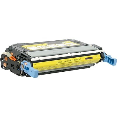Quill Brand® HP 644 Remanufactured Yellow Laser Toner Cartridge, Standard Yield (Q6462A) (Lifetime Warranty)