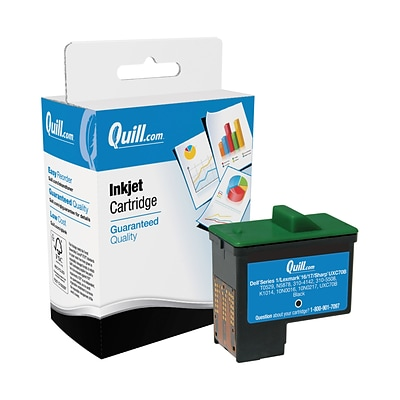 Quill Brand® Lexmark 16/26 Black Remanufactured Ink Cartridge, Standard Yield (10N0016) (Lifetime Warranty)