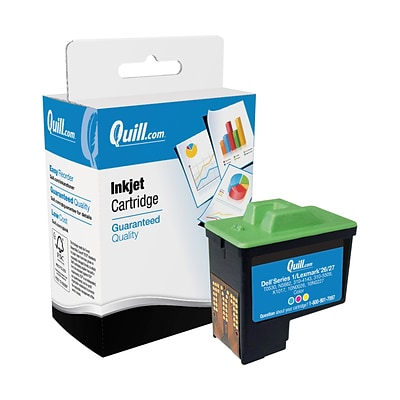 Quill Brand Remanufactured Toner Cartridge for Lexmark™ 10N0026 #26 Color (100% Satisfaction Guaranteed)