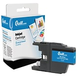 Quill Brand® Brother LC71/LC75 Remanufactured Cyan Inkjet Cartridge, High Yield (LC75C) (Lifetime Wa