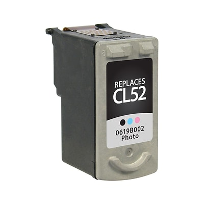Quill Brand® Remanufactured Ink Cartridge Comparable to Canon® CL-52 Color (Lifetime Warranty)