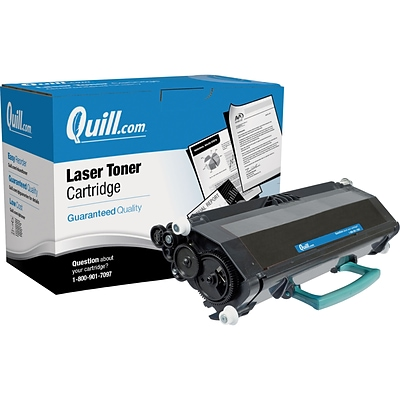 Quill Brand Remanufactured Laser Toner Ctdg. Comp. to Lexmark™ E460X21A Extra High Yield Black (100% Satisfaction Guaranteed)