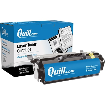 Quill Brand Remanufactured Laser Toner Ctdg. Comp. to Lexmark™ T654X21A Extra High Yield Black (100% Satisfaction Guaranteed)
