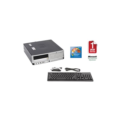HP DC7600 P4-3.0/2048/500 Refurbished Desktop PC