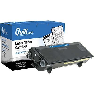 Quill Brand Compatible Brother® TN570 Black Laser Toner Cartridge (100% Satisfaction Guaranteed)