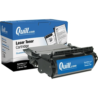 Quill Brand Remanufactured Compatible Lexmark™ 12A6865 Laser Cartridge (100% Satisfaction Guaranteed)