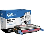 Quill Brand Remanufactured HP 641A Magenta Standard Laser Toner Cartridge  (CB403A) (100% Satisfacti
