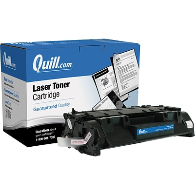 Quill Brand Remanufactured HP 05A (CE505A) Black Laser Toner Cartridge (100% Satisfaction Guaranteed)