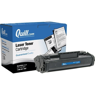 Quill Brand Remanufactured Fax Cartridge for Canon® CFX-L3500 IF L4000 L4500 IF (FX-3) (100% Satisfaction Guaranteed)