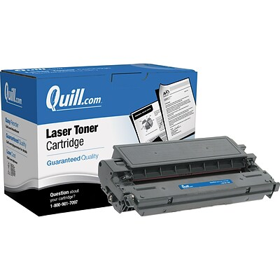 Quill Brand Remanufactured Canon® E20 (1492A002CA) Black Laser Toner Cartridge (100% Satisfaction Guaranteed)