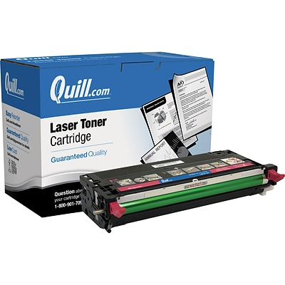 Quill Brand Remanufactured Dell 3110/3115 Magenta High Yield Laser Toner Cartridge  (MF790) (100% Satisfaction Guaranteed)