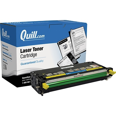 Quill Brand Remanufactured Laser Toner Cartridge for Dell™ 3110CN and 3115CN High Yield Yellow (100% Satisfaction Guaranteed)