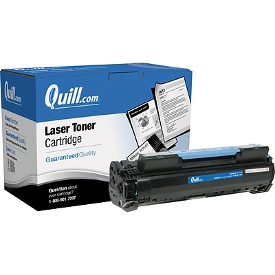 Quill Brand Remanufactured Laser Toner Cartridge for Canon® Imageclass MF6530 Black (100% Satisfaction Guaranteed)
