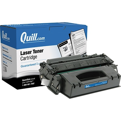 Quill Brand Remanufactured HP 49X (Q5949X) Black High Yield Laser Toner Cartridge (100% Satisfaction Guaranteed)