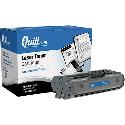 Quill Brand Remanufactured HP 92A (C4092A) Black Laser Toner Cartridge (100% Satisfaction Guaranteed)