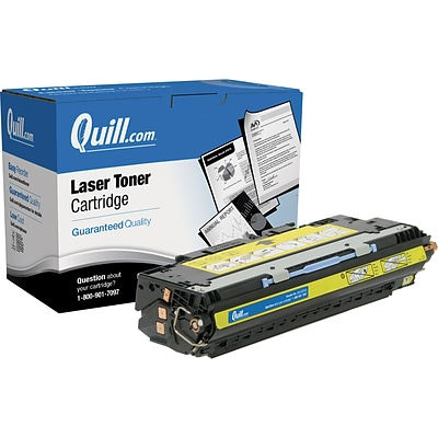 Quill Brand Remanufactured HP 309A (Q2672A) Yellow Laser Toner Cartridge (100% Satisfaction Guaranteed)