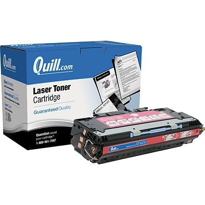 Quill Brand Remanufactured HP Toner Ctg. Compatible f/LJ3500 Magenta (100% Satisfaction Guaranteed)