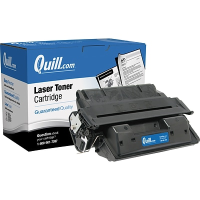 Quill Brand Remanufactured HP 27X Black High Yield Laser Toner Cartridge  (C4127X) (100% Satisfaction Guaranteed)