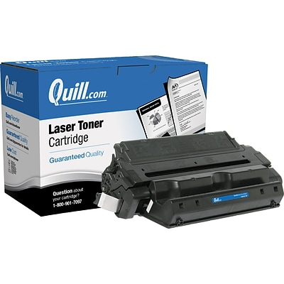 Quill Brand Remanufactured HP 82X Black High Yield Laser Toner Cartridge  (C4182X) (100% Satisfaction Guaranteed)